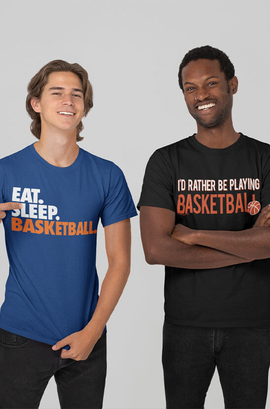 Shop Our Basketball Tees
