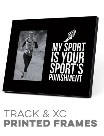 Track & Cross Country Printed Frames