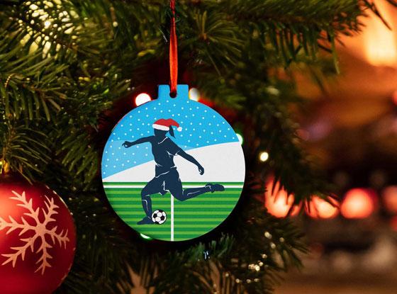 Shop All Soccer Ornaments