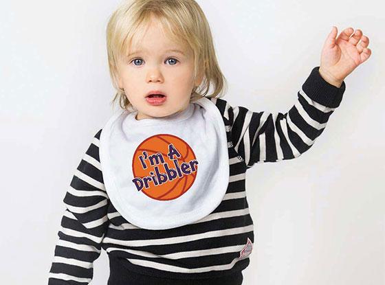 I'm A Dribbler Basketball Bib
