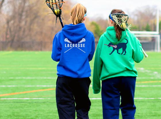 Shop Girls Lacrosse Logo Collection