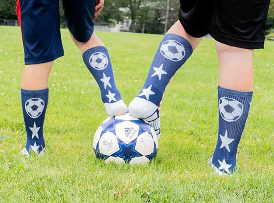 Shop Soccer Mid-Calf Woven Socks