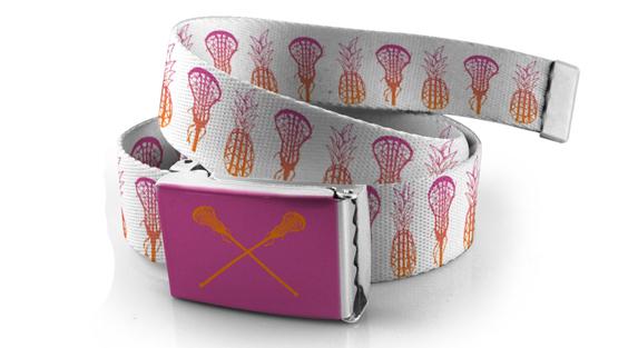 Girls Lacrosse Lifestyle Belts