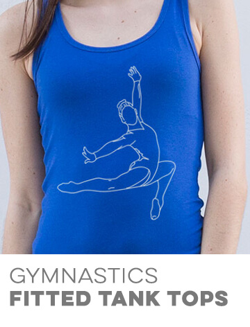 Gymnastics Fitted Tank Tops