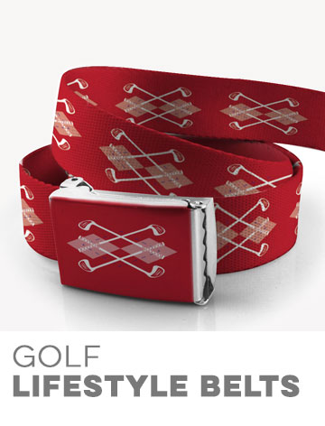 Golf Lifestyle Belts
