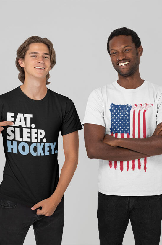 Shop our Hockey Tees