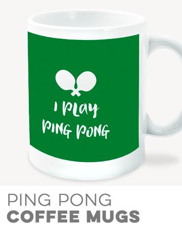Ping Pong Coffee Mugs