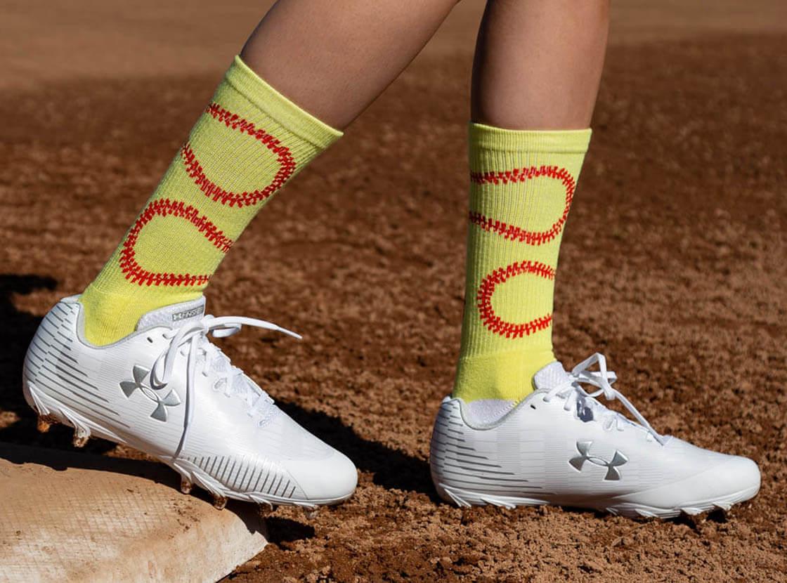 Shop Our Softball Mid-Calf Socks