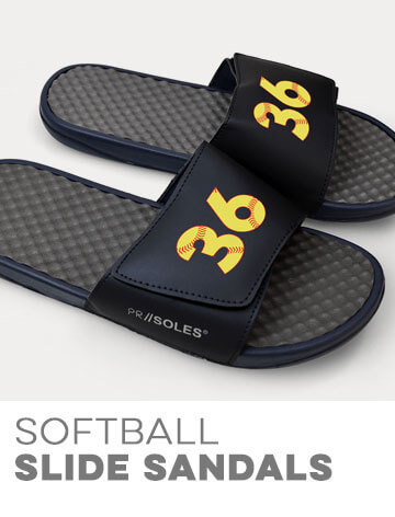 Softball Slide Sandals