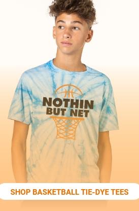 Shop Basketball Tie-Dye Tees