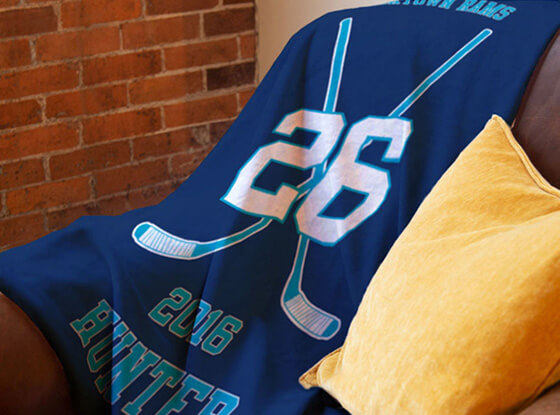 Shop our Hockey Blankets