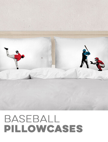 Baseball Pillowcases