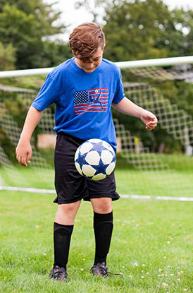 Shop Our Guys Soccer Land That We Love Tee