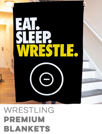 Wrestling Premium Blankets