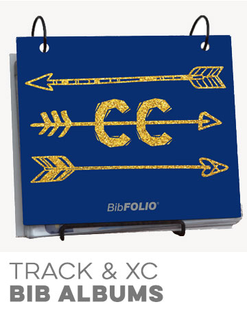 Track and Cross Country BibFOLIOs
