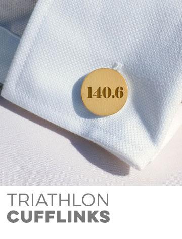 Triathlon Cufflinks