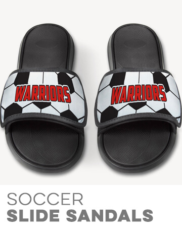 Soccer Repwell Slide Sandals