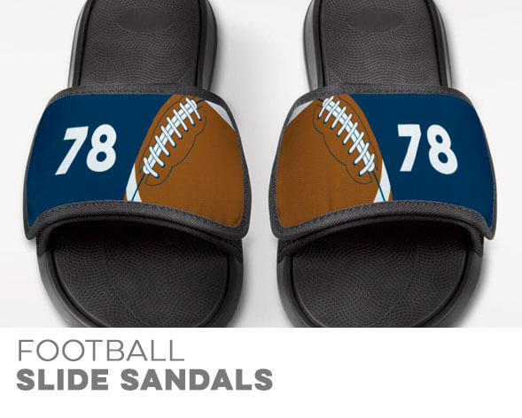 Football Repwell Slide Sandals