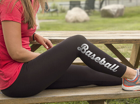 Shop our Baseball Leggings