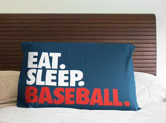 Shop pillowcases for your sport