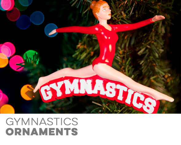 Gymnastics Ornaments