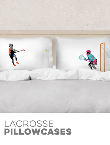 Girls Lacrosse Pillowcases