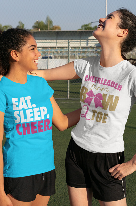 Shop Our Cheerleading Tees