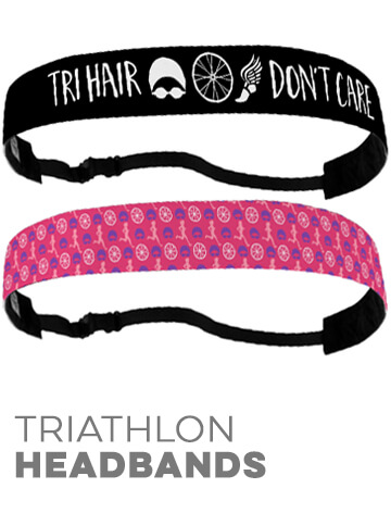 Triathlon No-Slip Headbands