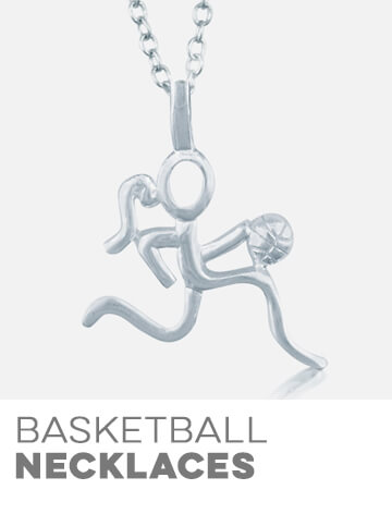 Basketball Necklaces
