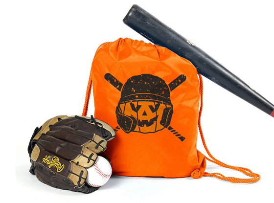 Shop Helmet Baseball Cinch Sack