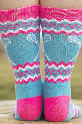 Shop Lacrosse Mid calf Socks
