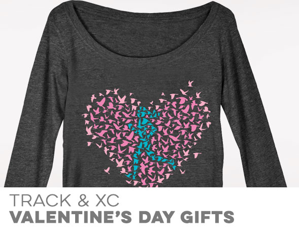 Track & Cross Country Valentine's Day Gifts