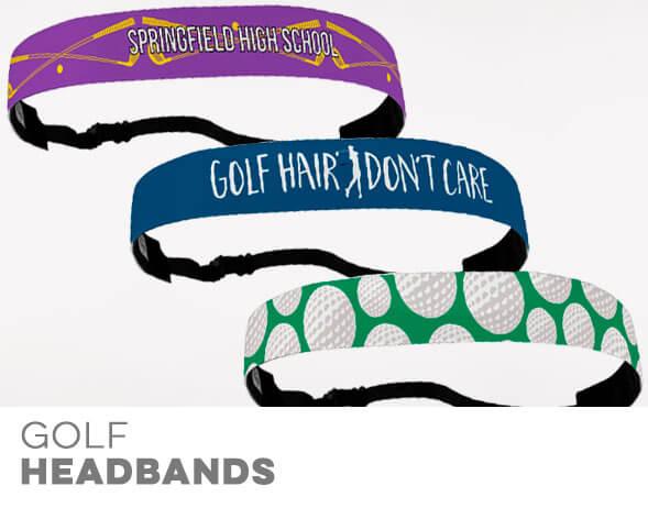 Golf No-Slip Headbands