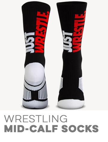Wrestling Mid-Calf Socks