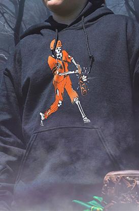Shop Home Run Zombie Hooded Sweatshirt