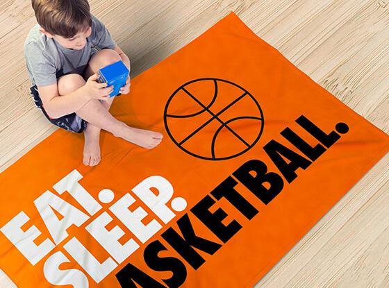 Basketball Blankets