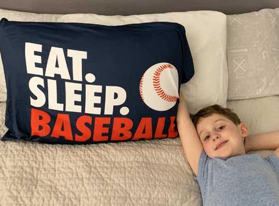 Shop Our Baseball Pillowcases