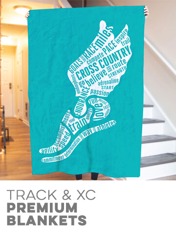 Track & Cross Country Premium Blankets