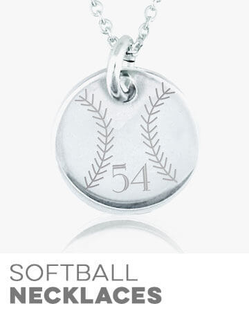 Softball Necklaces