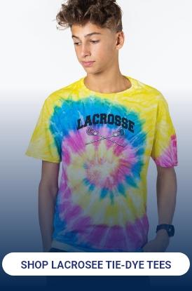 Shop Guys Lacrosse Tie-Dye Tees