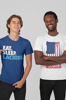 Shop Our Guys Lacrosse Tees