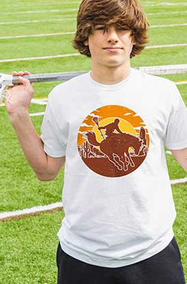 Shop Our Guys Lacrosse Giddy Up Tee