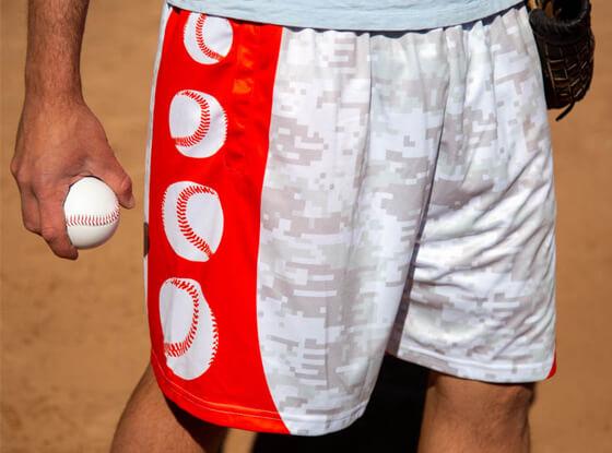 Baseball Digital Camo Athletic Shorts