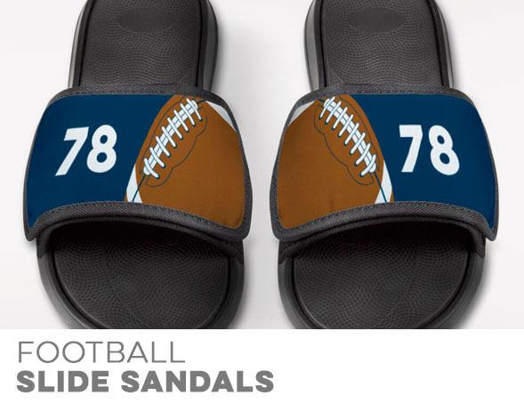 Football Repwell Slide Sandals