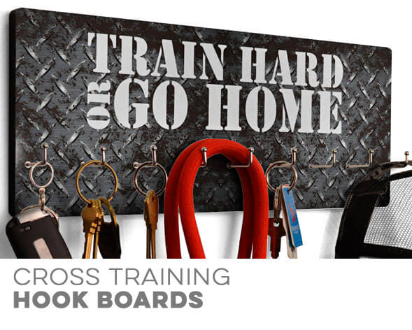 Cross Training Hooked on Boards