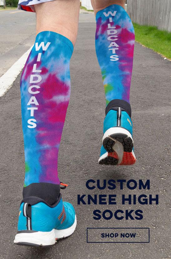 Shop Our Custom Knee High Socks