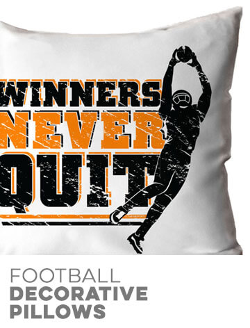 Football Decorative Pillowcases