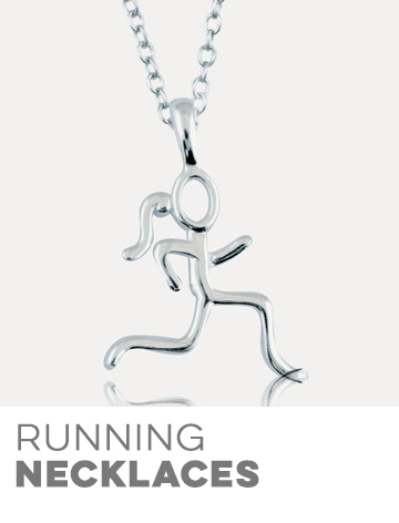 Runner's Sterling Silver Necklaces