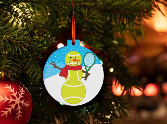 Shop All Tennis Ornaments