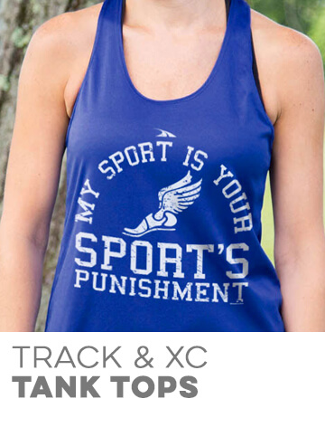 Track & Cross Country Tank Tops